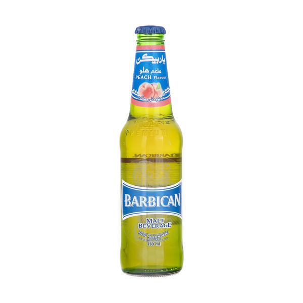 نوشیدنی مالت با طعم هلو باربیکن مقدار 330 میلی لیتر