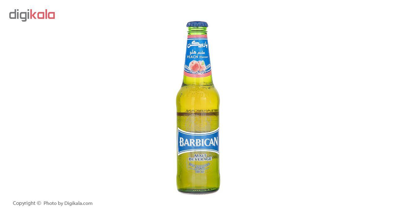 نوشیدنی مالت با طعم هلو باربیکن مقدار 330 میلی لیتر main 1 2