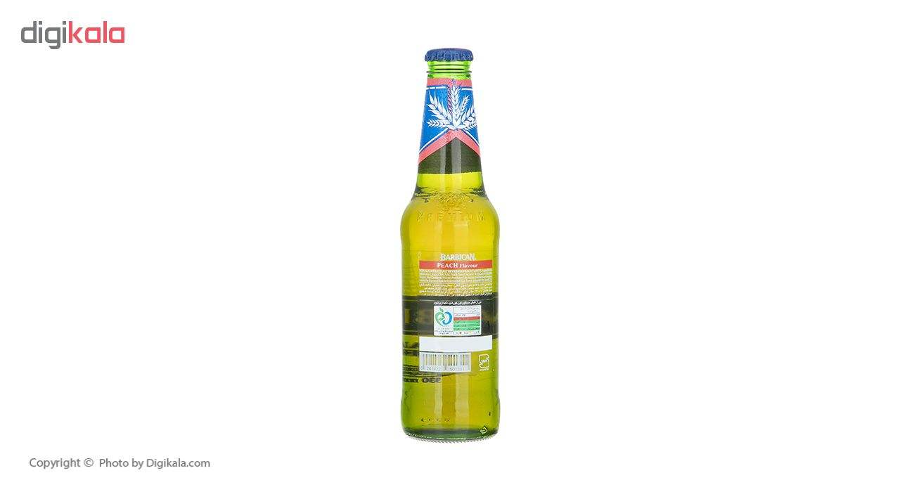 نوشیدنی مالت با طعم هلو باربیکن مقدار 330 میلی لیتر main 1 3