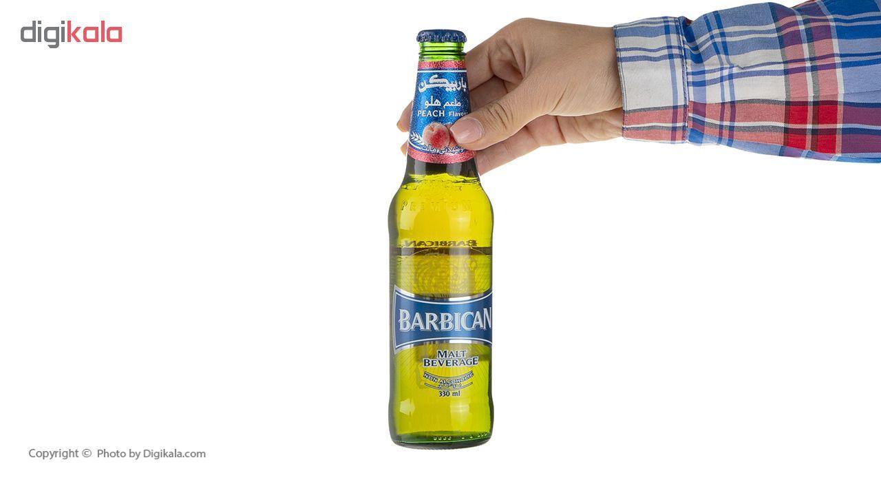 نوشیدنی مالت با طعم هلو باربیکن مقدار 330 میلی لیتر main 1 6