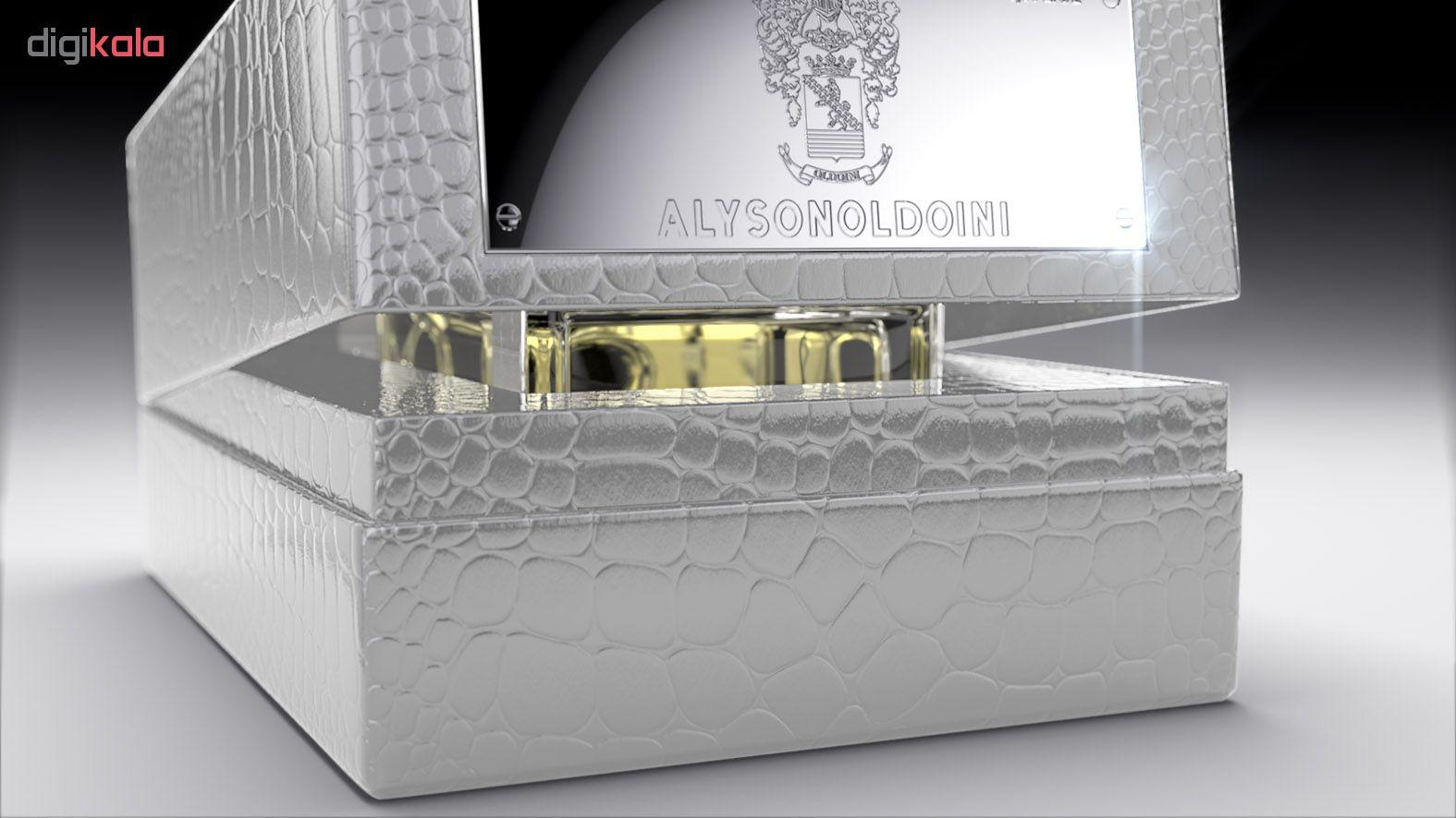 ادو پرفیوم زنانه الیسون اولدوئینی مدل بلک ویولت حجم 100 میلی لیتر