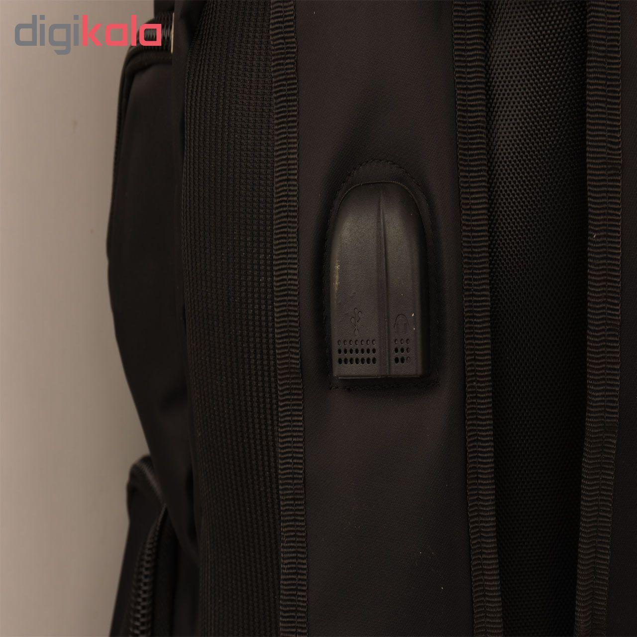 کوله پشتی لپ تاپ مدل SP144 مناسب برای لپ تاپ 15  اینچی main 1 5