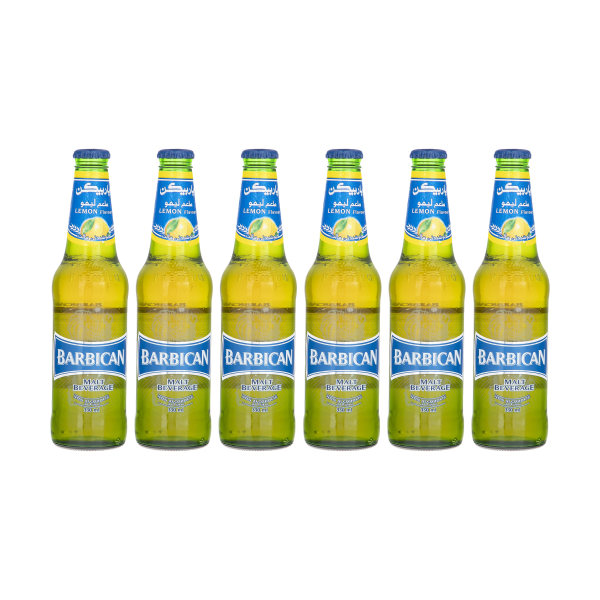 نوشیدنی مالت با طعم لیمو باربیکن مقدار 330 میلی لیتر بسته 6 عددی