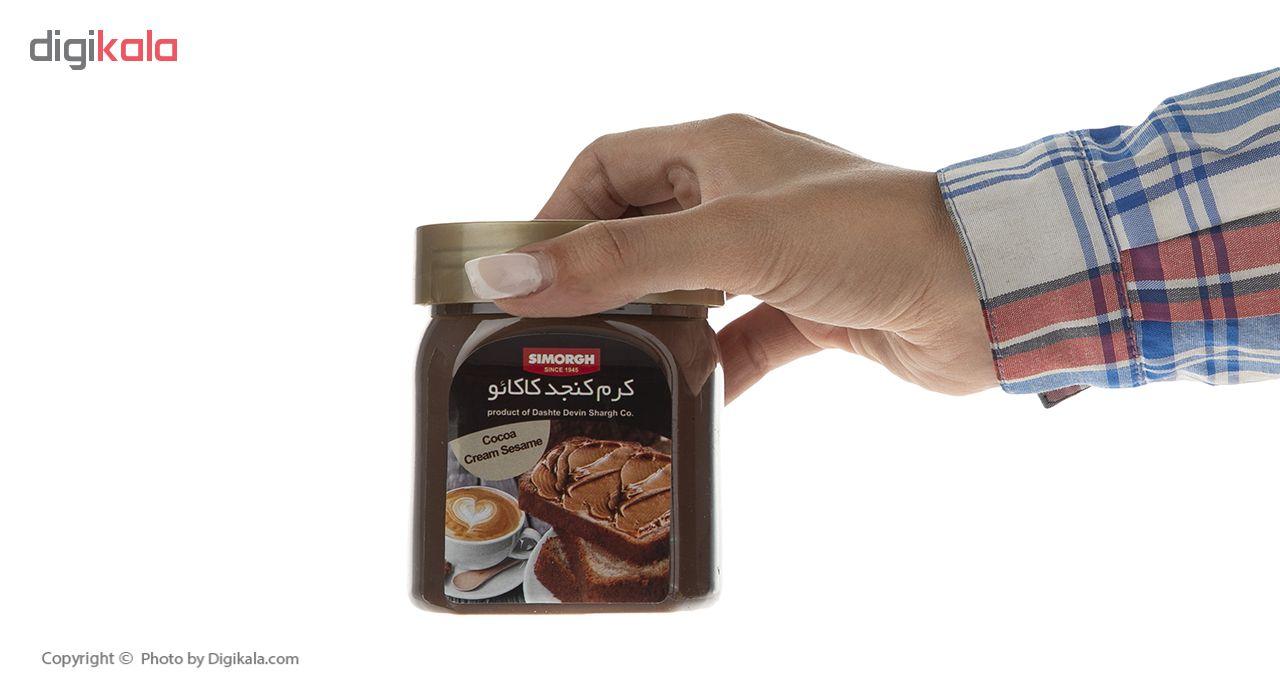 کرم کنجد کاکائو سیمرغ وزن 350 گرم main 1 5