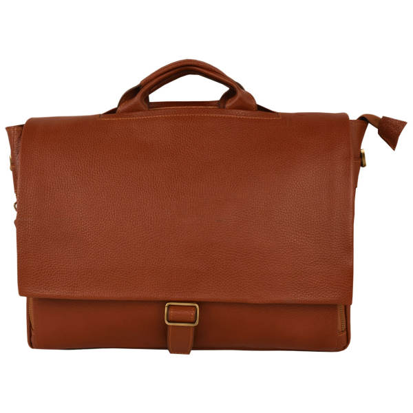 کیف اداری مردانه کهن چرم کد  1-LZ17