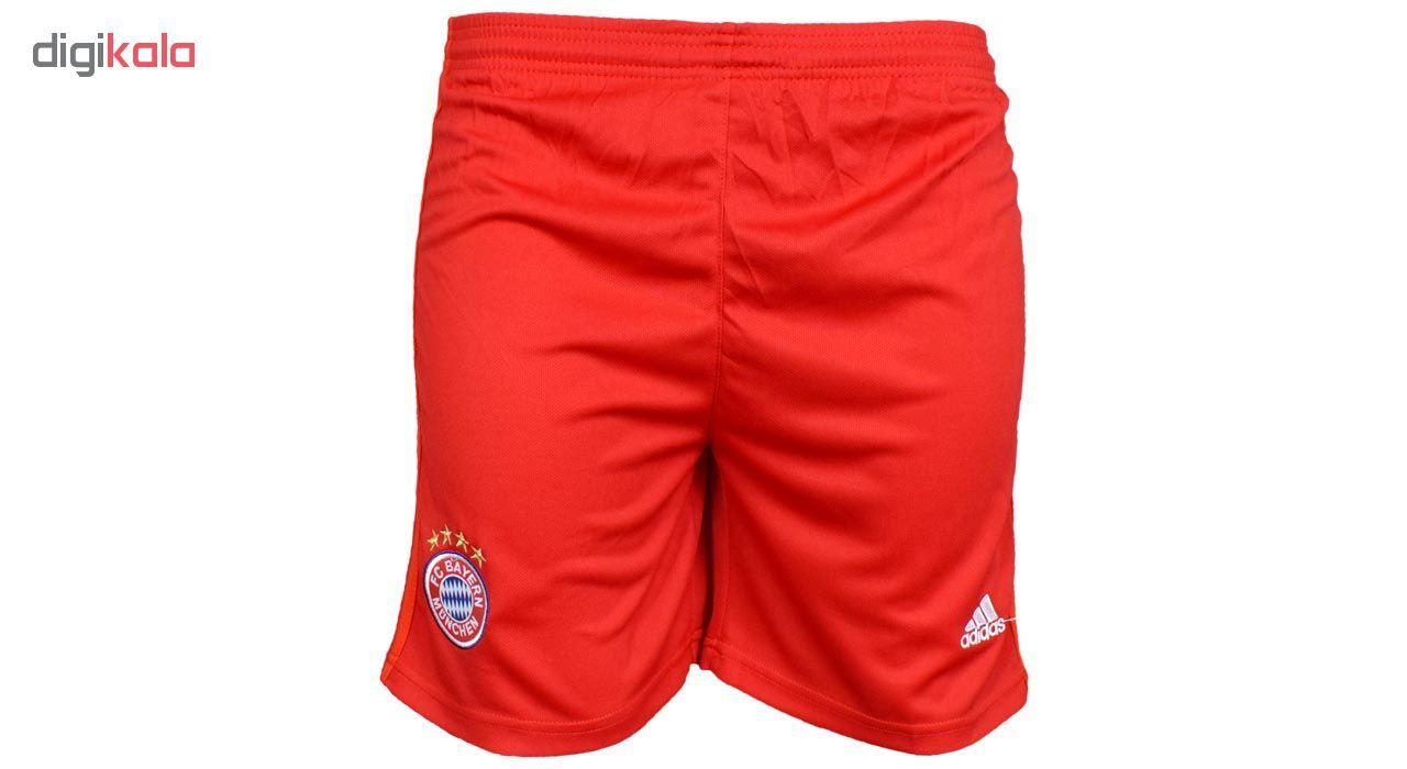 ست تی شرت و شلوارک ورزشی مردانه طرح بایرن مونیخ کد 20-home2019 رنگ قرمز