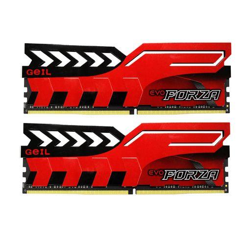 رم دسکتاپ DDR4 دو کاناله 2400 مگاهرتز CL17 گیل مدل Evo Forza ظرفیت 32 گیگابایت