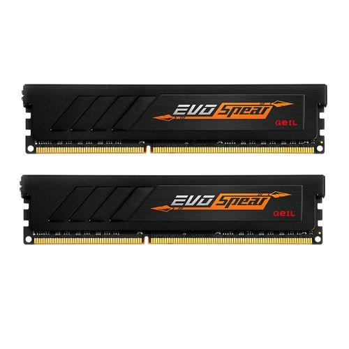 رم دسکتاپ DDR4 دو کاناله 2400 مگاهرتز CL16 گیل مدل Evo SPEAR ظرفیت 32 گیگابایت