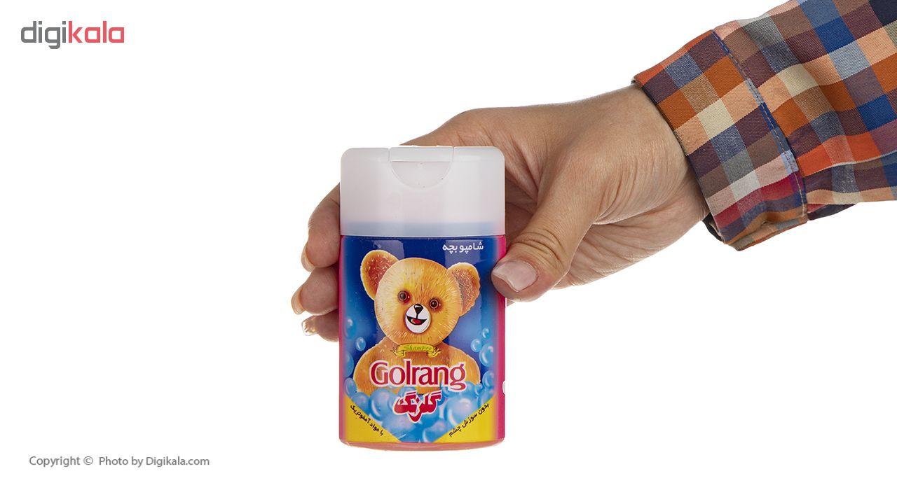 شامپو کودک گلرنگ مدل Bear مقدار 110 گرم main 1 4