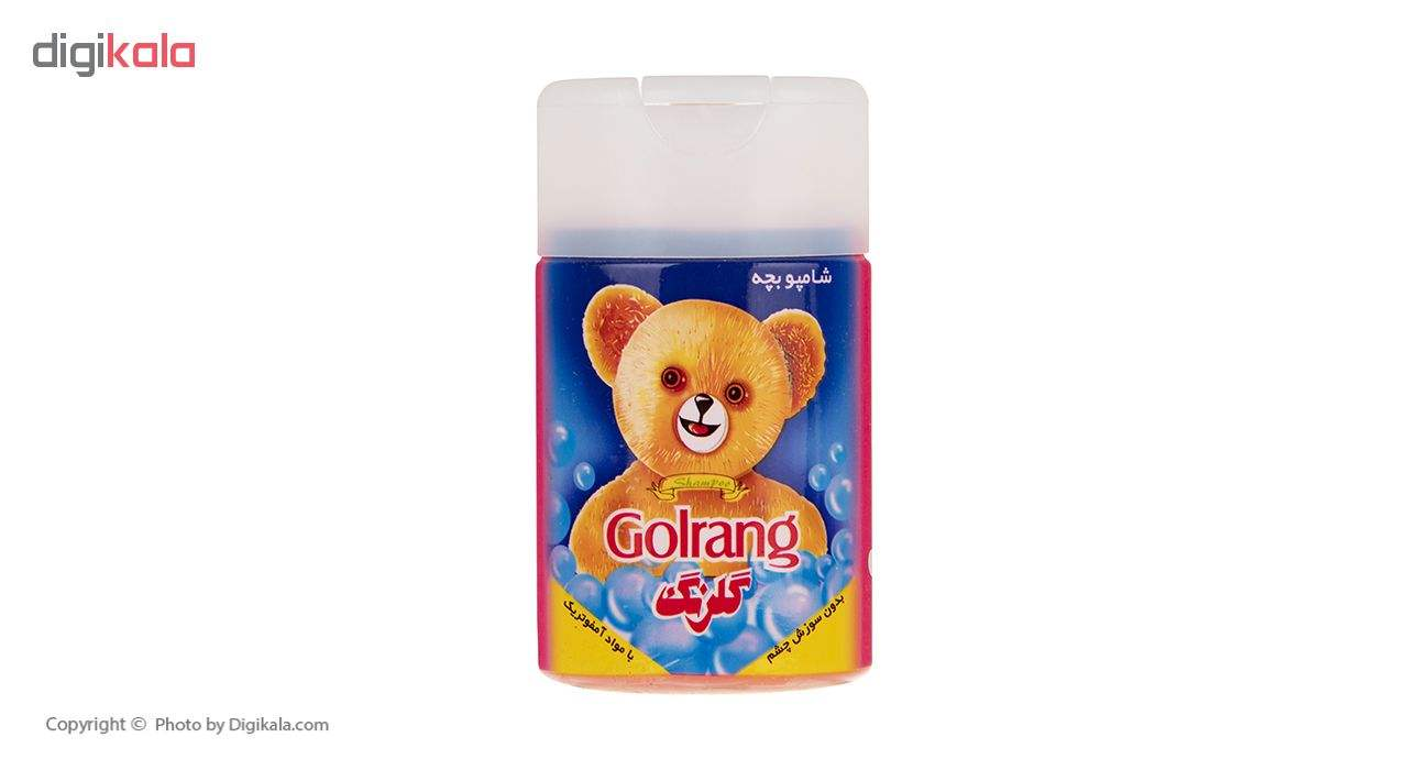 شامپو کودک گلرنگ مدل Bear مقدار 110 گرم main 1 1