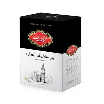 چای سیاه گلستان مدل ارل گری مقدار 225 گرم