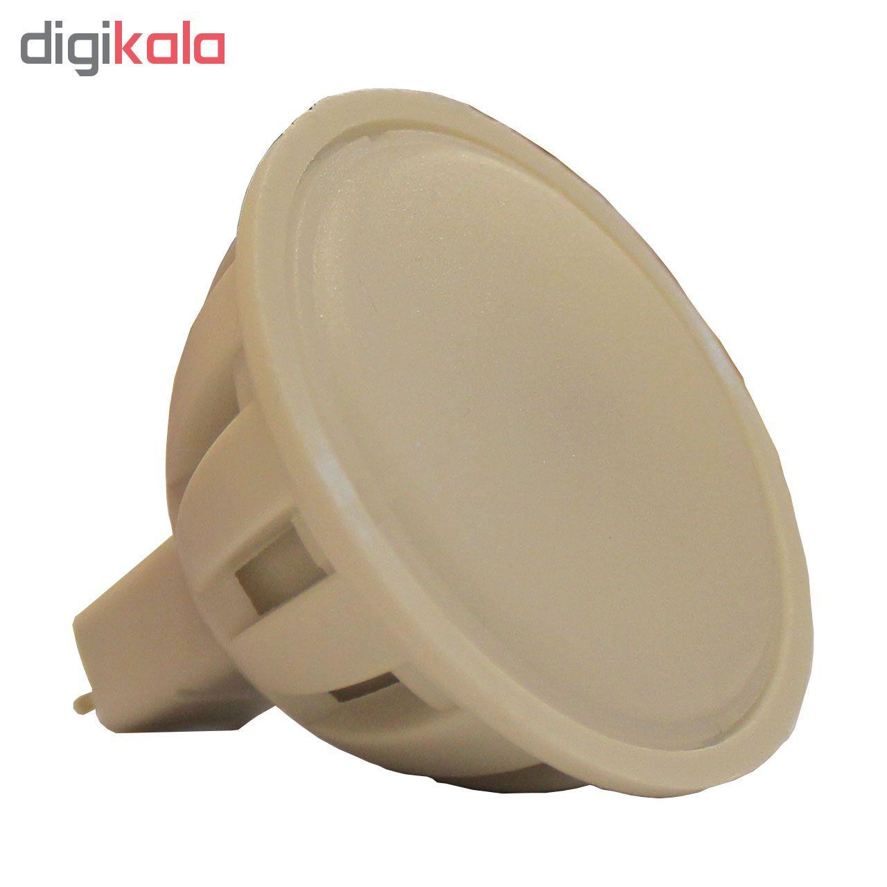 لامپ هالوژن ال ای دی 2.5 وات مدل MR16 پایه GU5.3 main 1 2