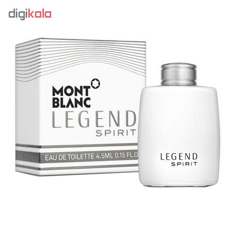 عطر جیبی مردانه مون بلان مدل Legend Spirit حجم 4.5 میلی لیتر