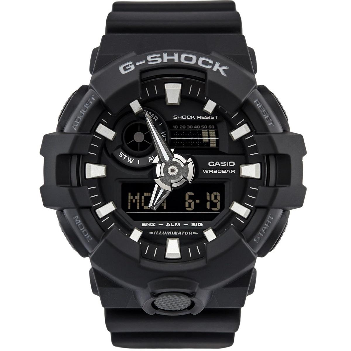 ساعت مچی عقربه ای مردانه کاسیو کد  GA-700-1BDR