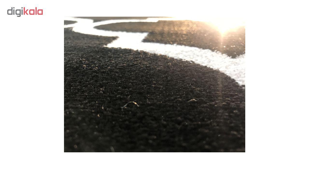 فرش ماشینی ساوین کد 4045 زمینه مشکی main 1 2