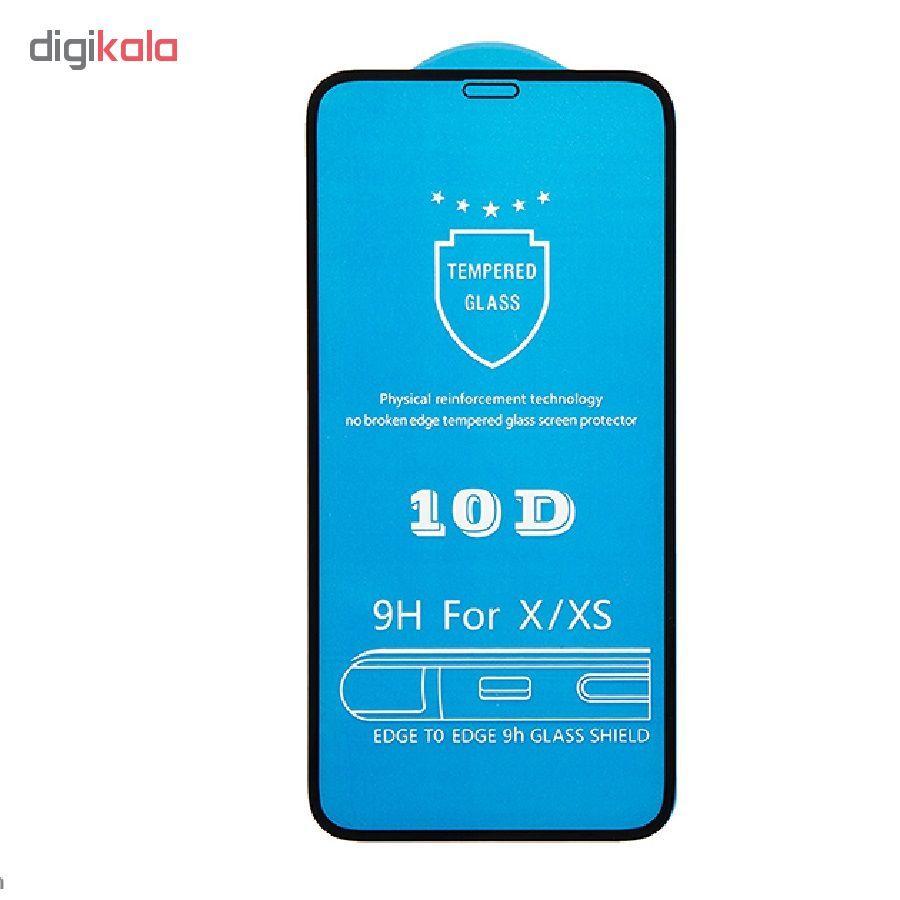 محافظ صفحه نمایش و پشت گوشی کاکتوس مدل MGPR_Bck مناسب برای گوشی موبایل اپل IPhoneXS MAX به همراه محافظ لنز دوربین main 1 1