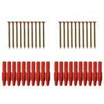 مجموعه 40 عددی پیچ و رولپلاک مدل BD 1003029.43 thumb