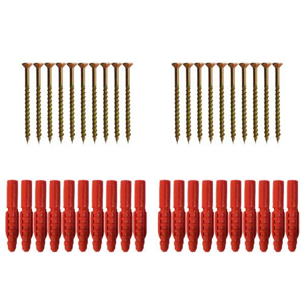 مجموعه 40 عددی پیچ و رولپلاک مدل BD 1003029.43
