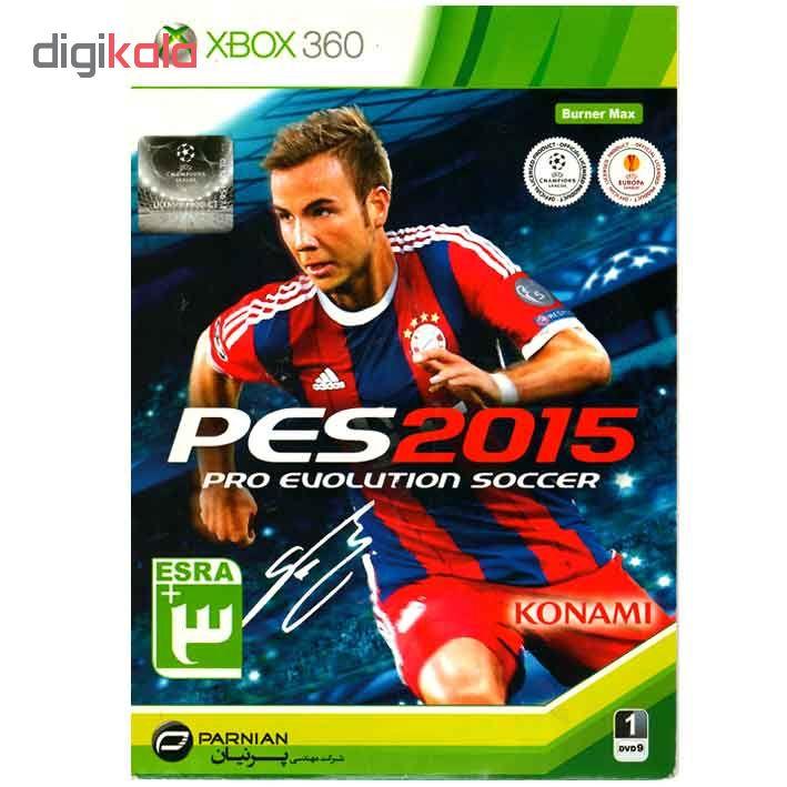 بازی PES 2015 مخصوص XBOX 360 main 1 1