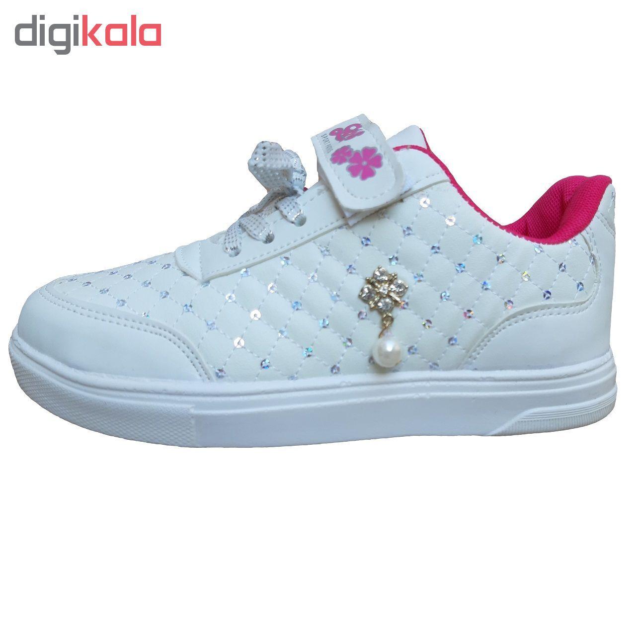 کفش راحتی دخترانه کد 235001 main 1 1