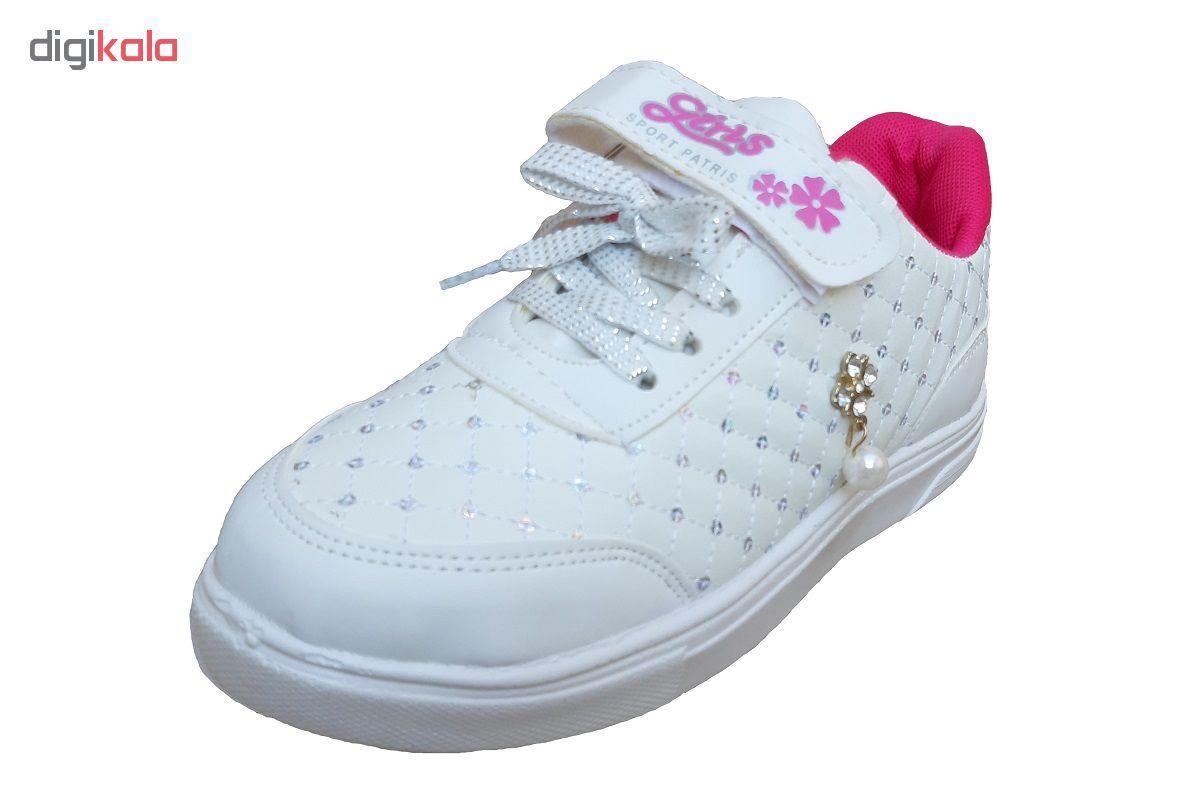 کفش راحتی دخترانه کد 235001 main 1 2
