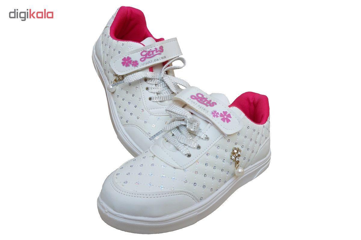 کفش راحتی دخترانه کد 235001 main 1 4