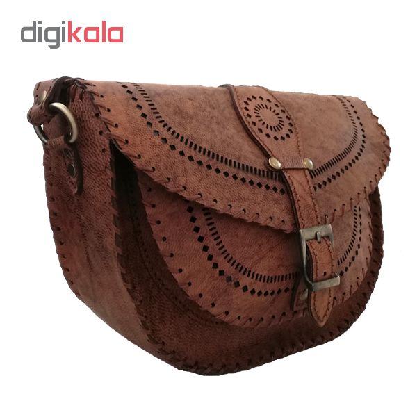 کیف دوشی زنانه کد DW107