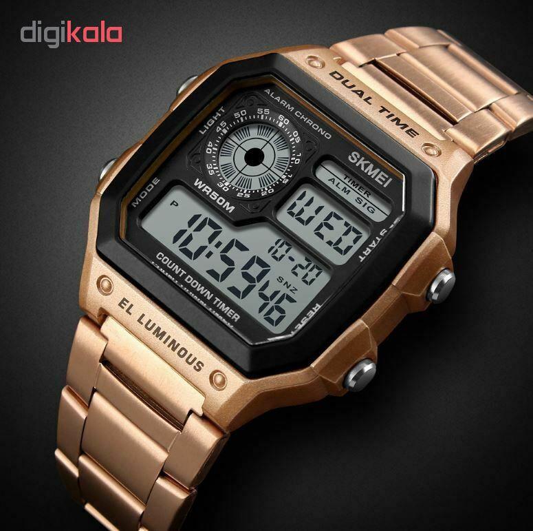 ساعت مچی دیجیتال اسکمی کد 1335R