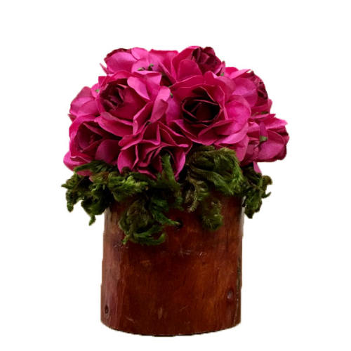 گلدان به همراه گل مصنوعی مدل درختی کد 70