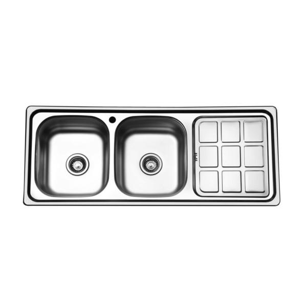 سینک ظرفشویی صدرا کد ۲۲۱ توکار