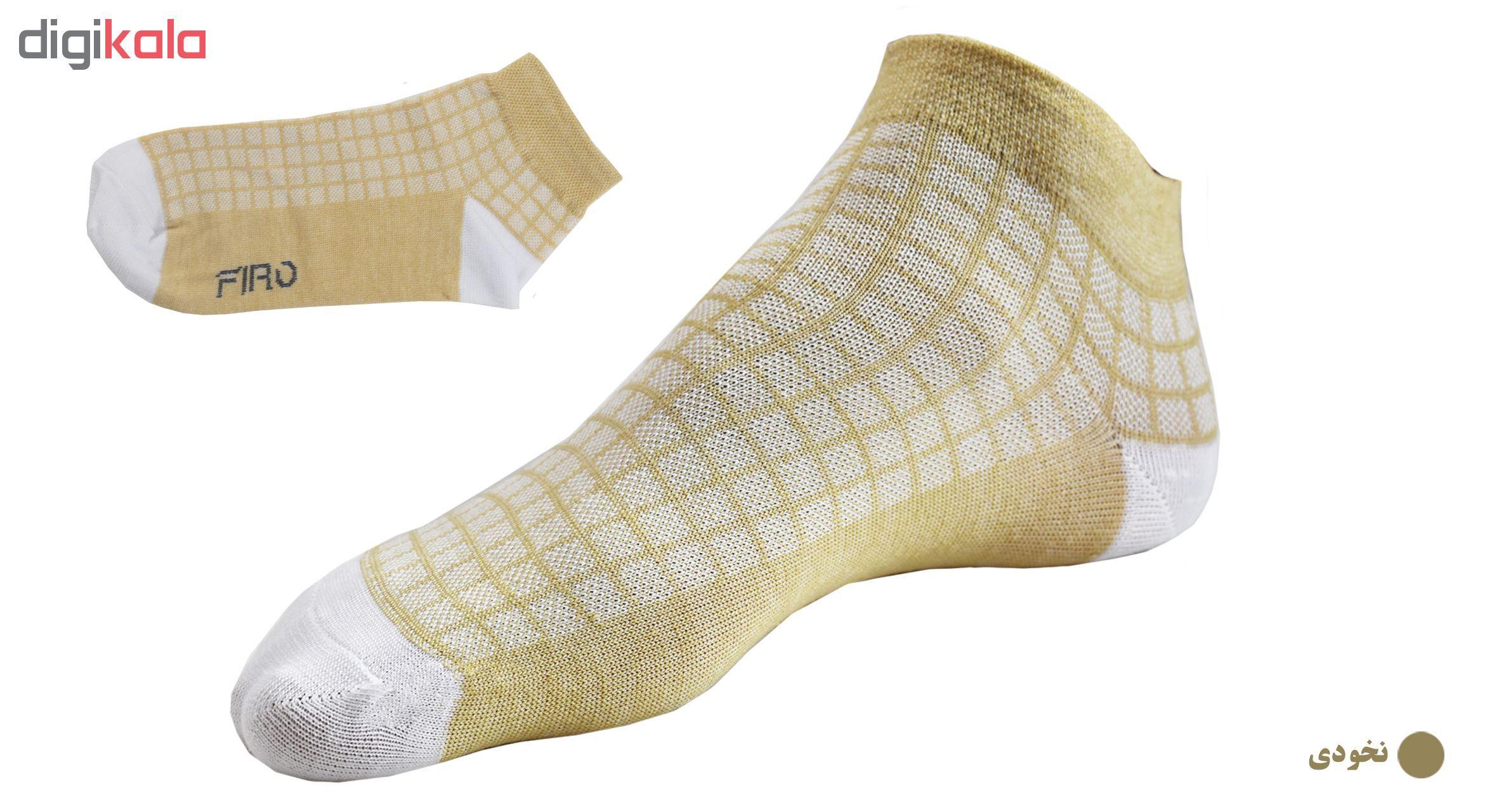 جوراب مردانه فیرو کد FT250 مجموعه 6 عددی main 1 2
