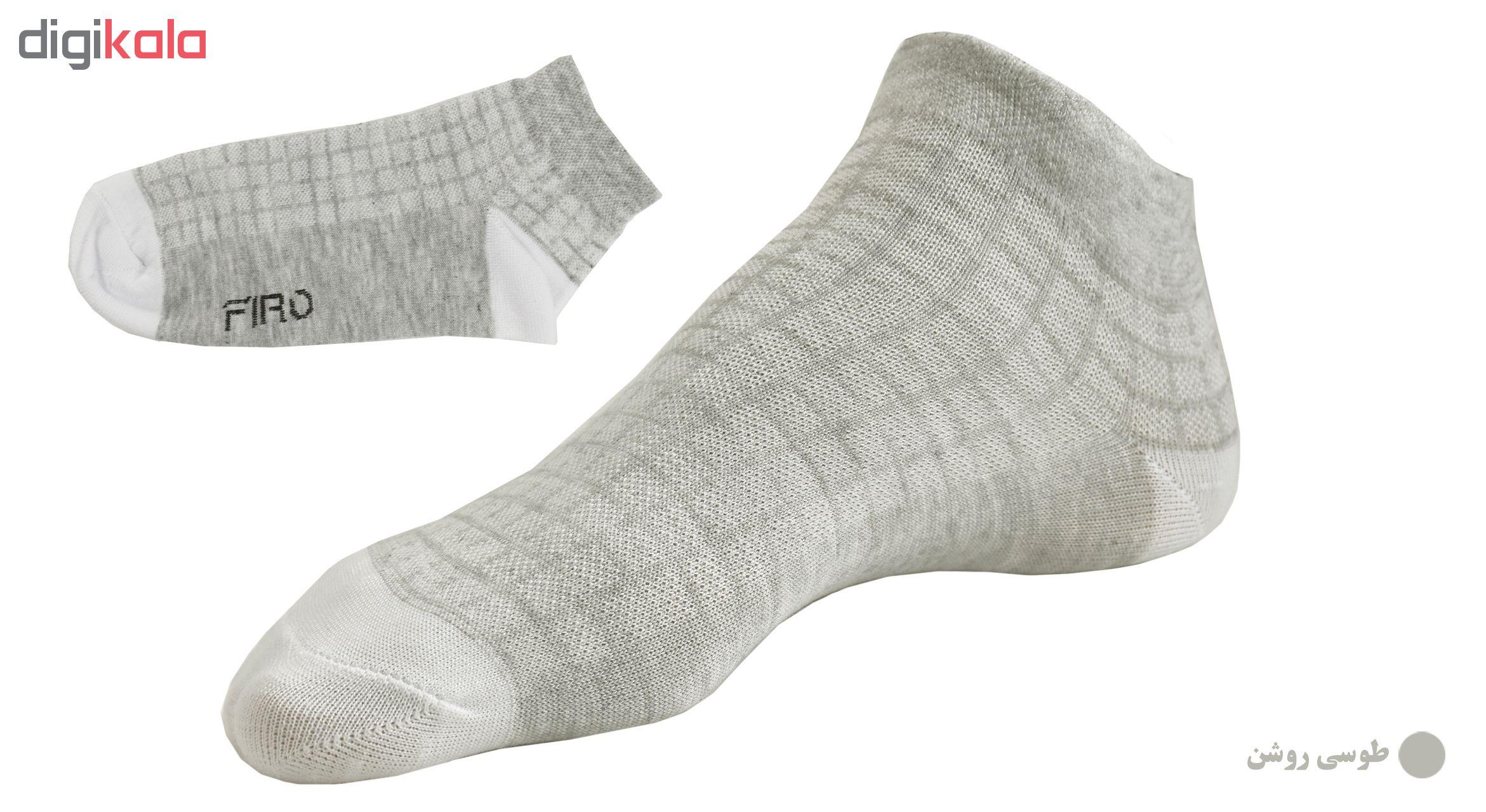 جوراب مردانه فیرو کد FT250 مجموعه 6 عددی main 1 3