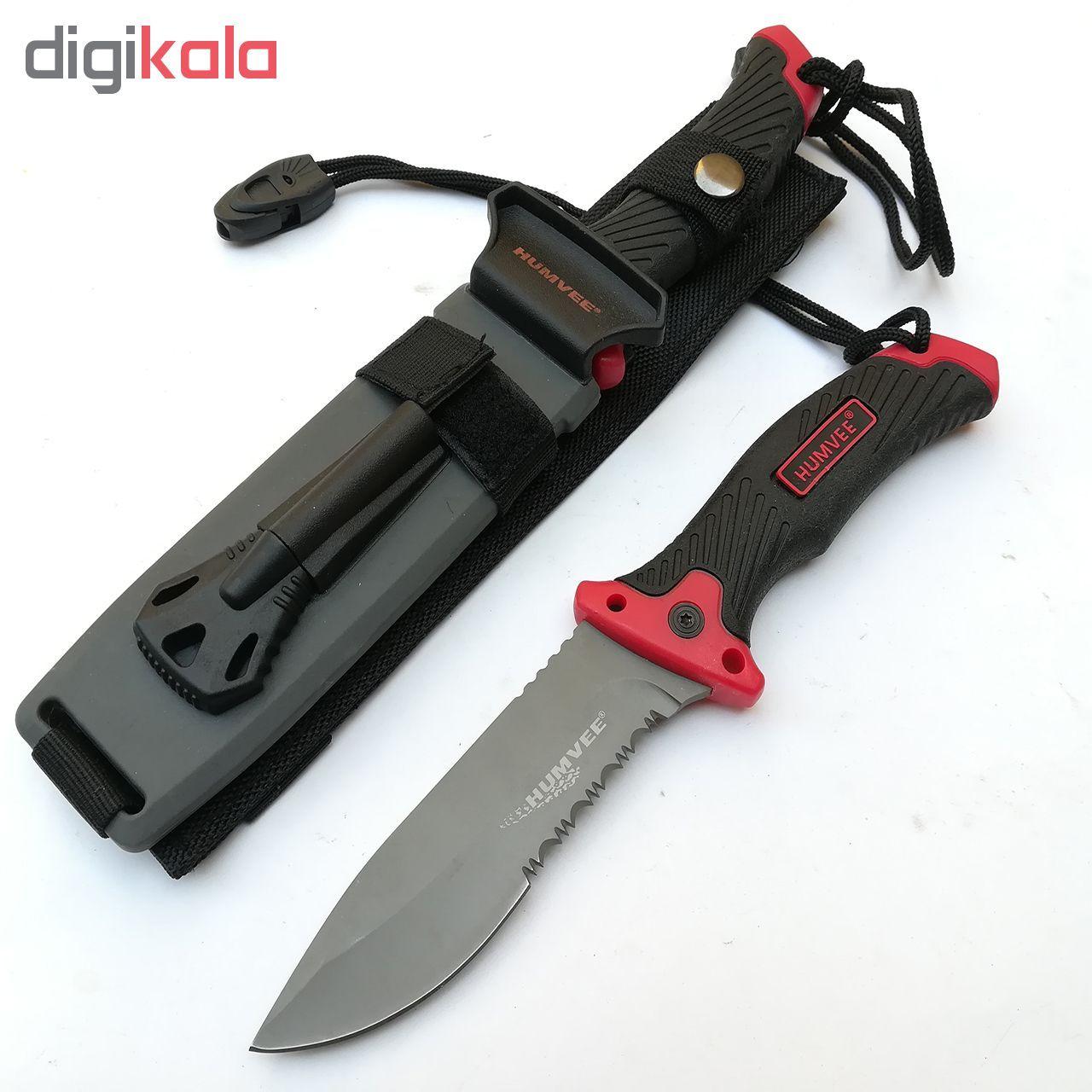 چاقوی سفری هوموی کد B27 main 1 1