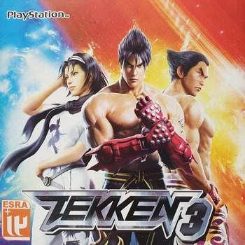 بازی Tekken 3 مخصوص PS1