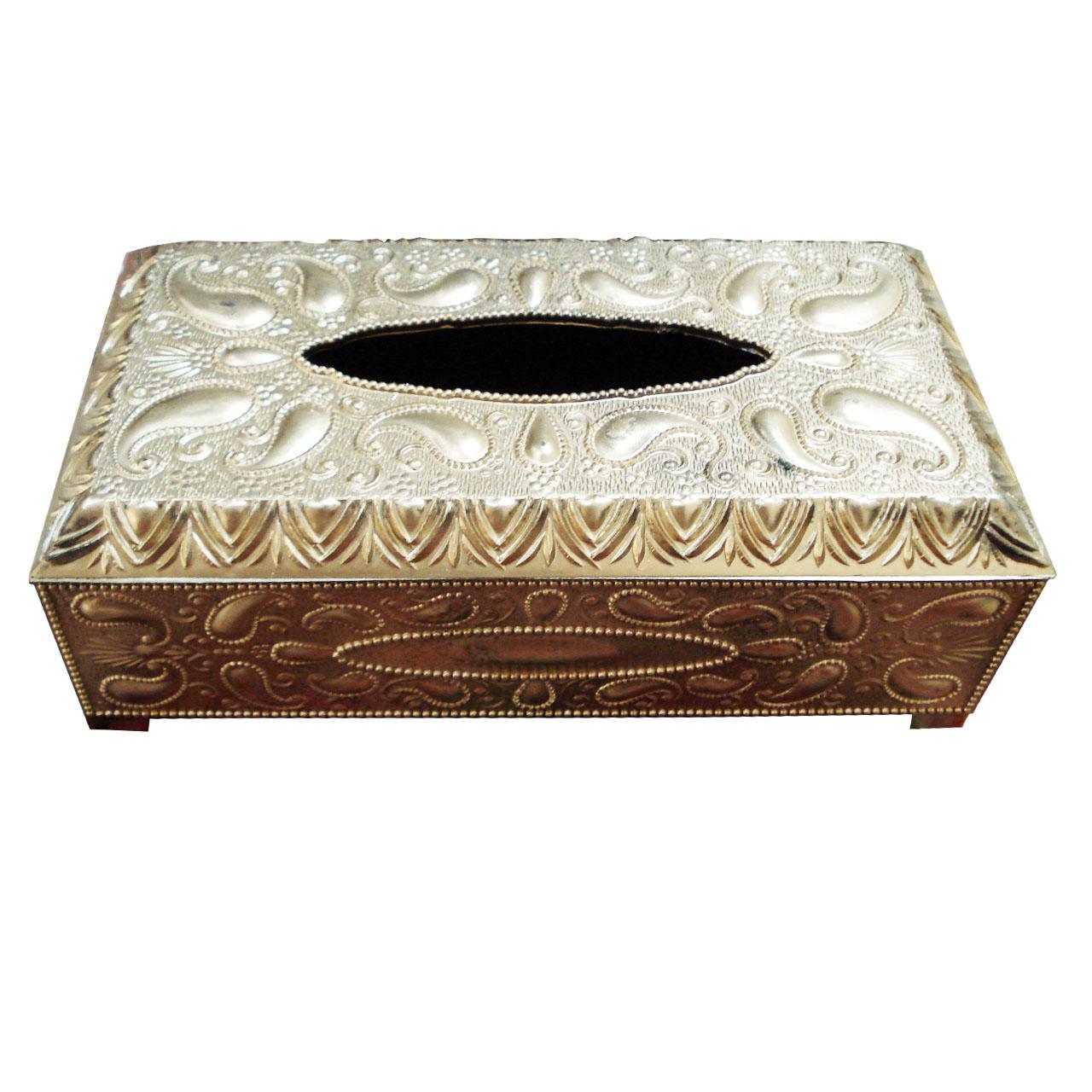جعبه دستمال کاغذی مدل نگین