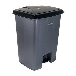 سطل زباله پدالی ممتاز پلاستیک مدل 720 ظرفیت ۱۵ لیتری