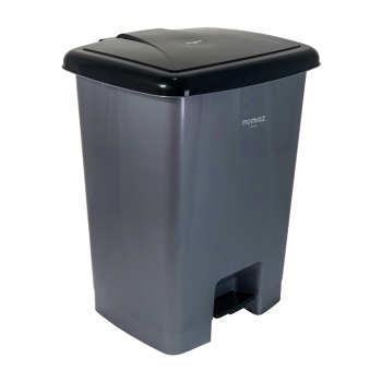 سطل زباله پدالی ممتاز پلاستیک مدل 730 ظرفیت ۲۵ لیتری