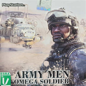 بازی Army Men omega soldier مخصوص PS1