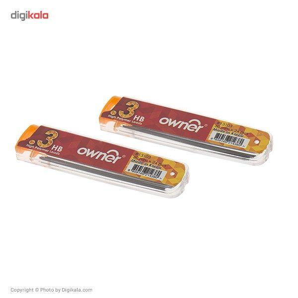نوک مداد نوکی 0.3 میلی متری اونر مدل High Polymer - بسته 2 عددی main 1 3
