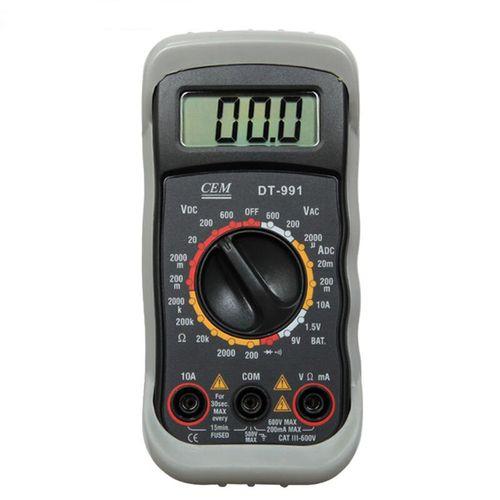 مولتی متر  دیجیتال  سی ای ام مدل DT-991