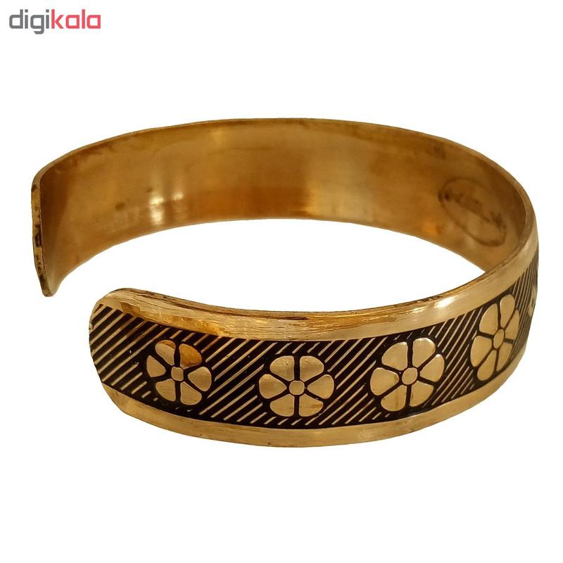 دستبند طرح فروهر کد 529