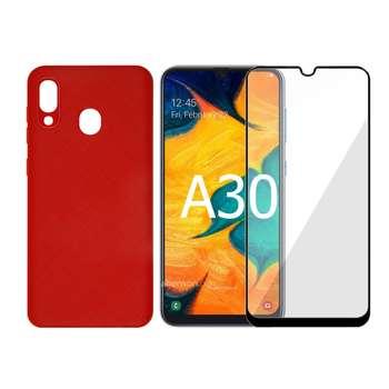 کاور سومگ مدل SC-i001 مناسب برای گوشی موبایل سامسونگ Galaxy A30 به همراه محافظ صفحه نمایش