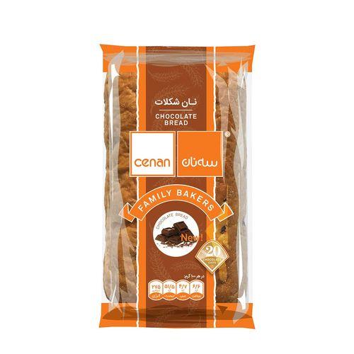 نان پروتشن شکلات سه نان 100 گرم