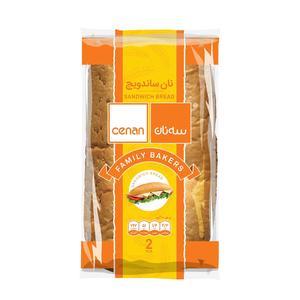 نان ساندویچ سه نان مقدار 300 گرم