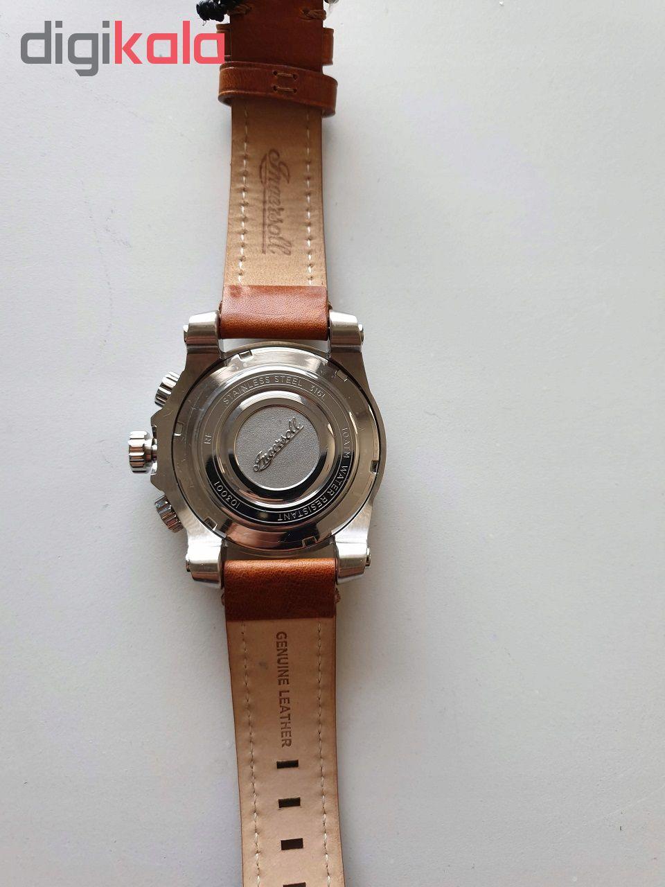 ساعت مچی عقربه ای مردانه اینگرسل کد I03001