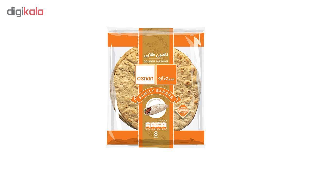 نان تافتون طلایی سه نان مقدار 450 گرم main 1 1