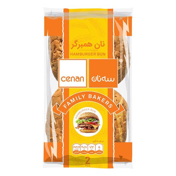 نان همبرگر سه نان مقدار 160 گرم