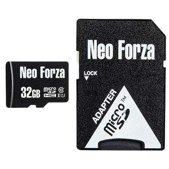 کارت حافظه microSDHC نئوفورزا کلاس 10 استاندارد UHS-I U1 سرعت 80MBps ظرفیت 32 گیگابایت به همراه آداپتور SD