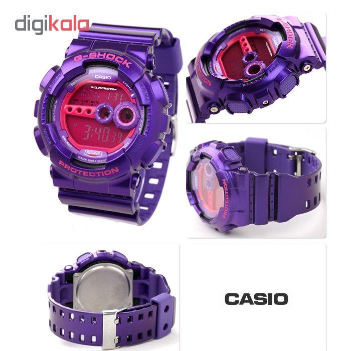 ساعت مچی  دیجیتال مردانه  کاسیو  کد  GD-100SC-6DR             قیمت