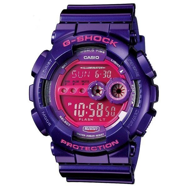 ساعت مچی  دیجیتال  کاسیو  کد  GD-100SC-6DR